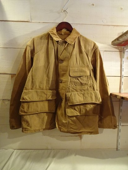 40-50's Vintage BLUE BILL by RED HEAD Hunting Jacket<BR>SALE! 14,800 + Tax → 8,880 + Tax