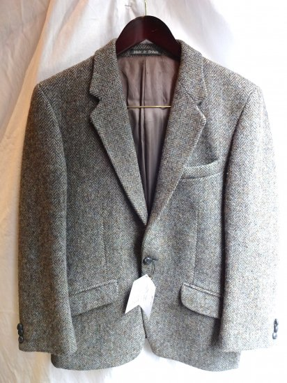 80's〜 Vintage Harris Tweed Jacket /11