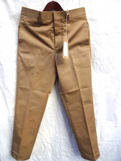 RICHFIELD C-1 Superior Pima Cotton Chino Trousers MADE IN JAPAN