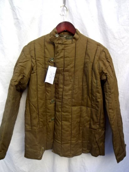 60-80's Vintage Dead Stock Soviet Military Quilted Liner Jacket Size2