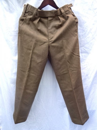 Dead Stock British Army No2 Wool Trousers 72/76/92