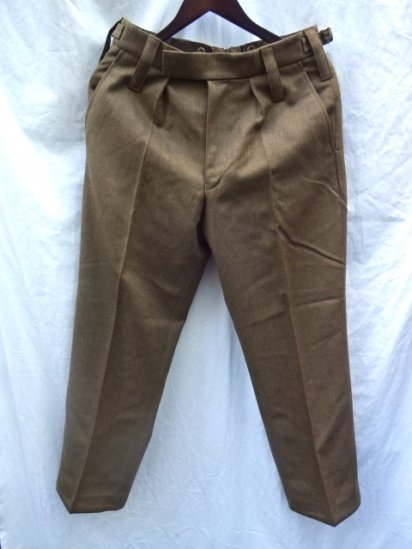 Dead Stock British Army No2 Wool Trousers 72/80/96