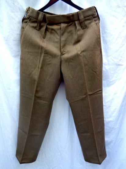 Dead Stock British Army No2 Wool Trousers 72/84/100