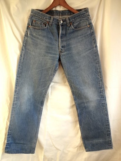 90's Old USA Levi's 501 Made in USA 32/29