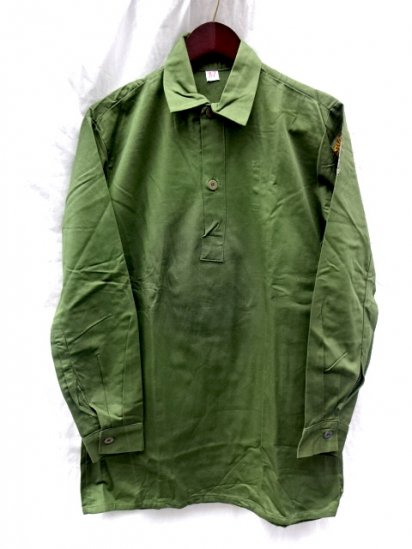 80's Dead Stock Vintage Swedish Army M55 Shirts /4