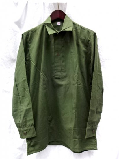 80's Dead Stock Vintage Swedish Army M55 Shirts /5