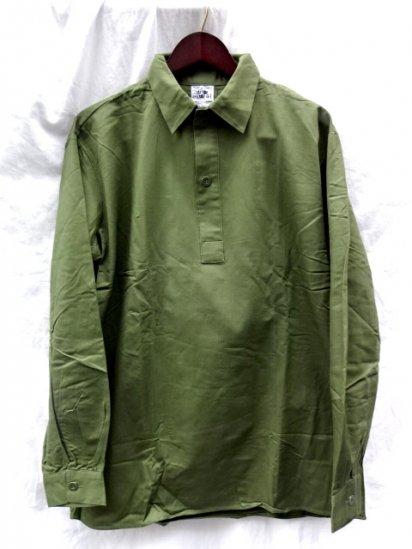 80's Dead Stock Vintage Swedish Army M55 Shirts /6