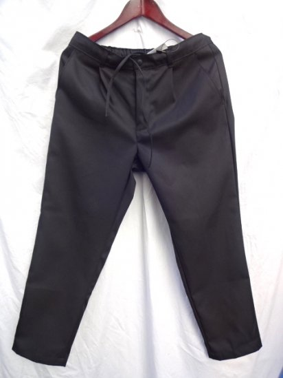 Uniform World Made in ENGLAND Pleasted Front Work Pants Black
