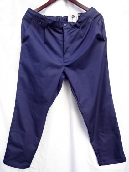 Uniform World Made in ENGLAND Pleasted Front Work Pants Navy