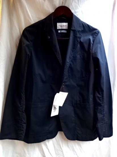 Vincent et Mireille T/C Stretch Poplin 2B Jacket Navy