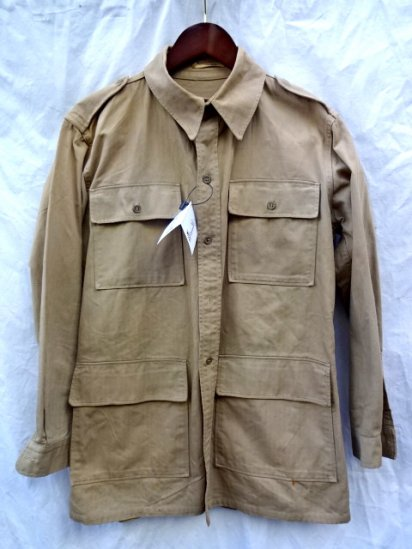 40's〜 Vintage British Army Safari Jacket MADE IN U.S.A?/2