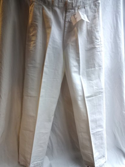 40-50's Vintage Royal Navy Officer Trousers Made by GIEVES Ltd.