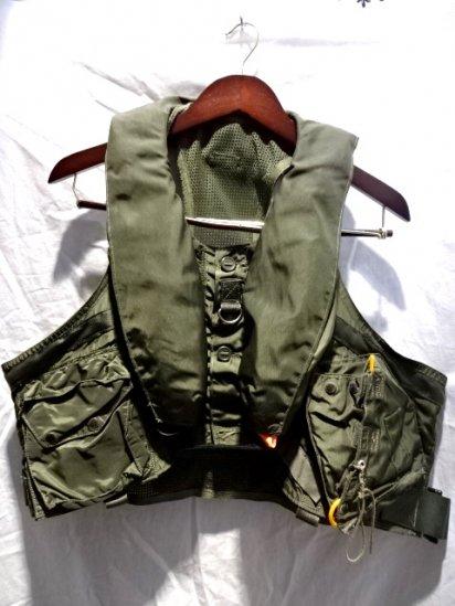 90's ~ RAF (Royal Air Force) Lifepreserver Vest MK 25