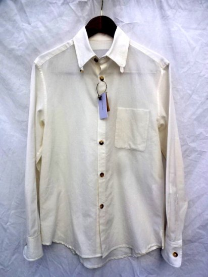 S.E.H KELLY 2018 SS LANCASTRIAN PARACHUTE COTTON KELLY COLLAR SHIRT MADE IN ENGLAND