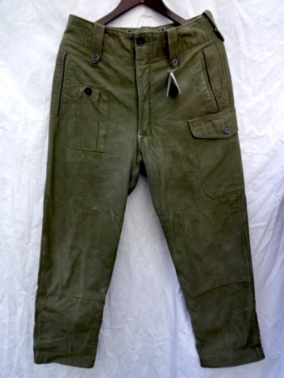 60's Vintage British Army 1960 Pattern Combat Trousers