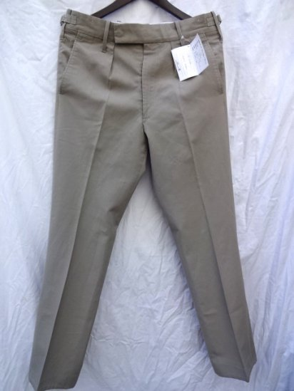 80's British Army Stone Tropical Trousers