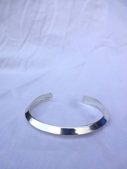 Navajo Tribe Sterling Silver Bracelet <BR> MADE IN U.S.A