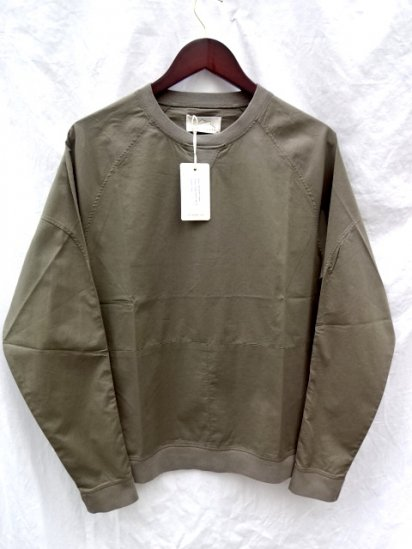 KESTIN HARE Haymarket Sweat Made in Porutugal Olive<BR>SALE! 15,000→10,500 + Tax
