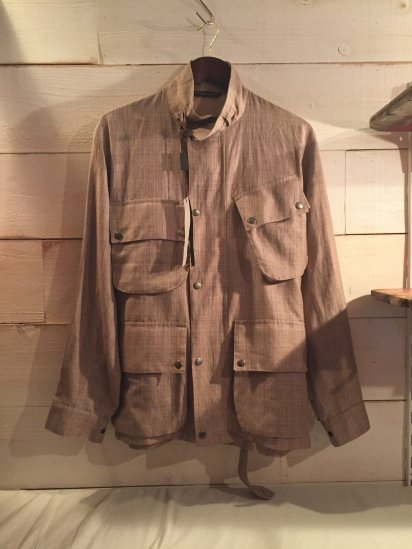 MACKINTOSH Linen Jacket MADE IN SCOTLAND<BR>SALE!! 58,000 + Tax → 34,800 + Tax