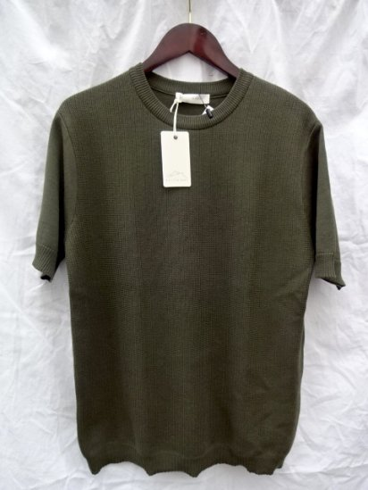 KESTIN HARE Southampton Tee Made in JAPAN <BR> Olive