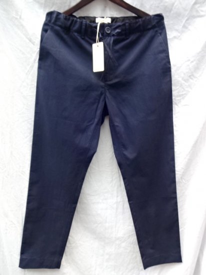 KESTIN HARE INVERNESS TROUSERS MADE IN ENGLAND Navy