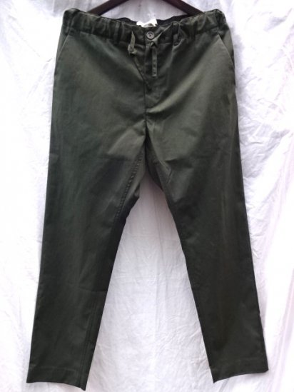 KESTIN HARE INVERNESS TROUSERS MADE IN ENGLAND Olive