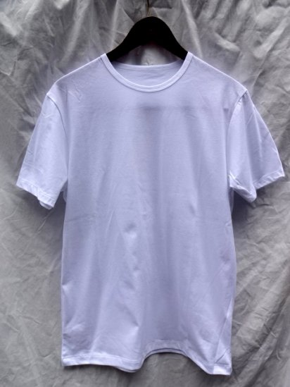 Made in Britain & Binder Neck T shirts White