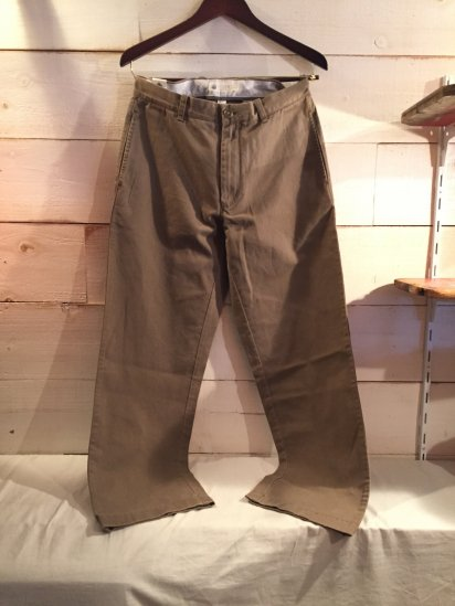 J.Crew Regular Fit Chino Pants<BR>SALE!! 7,800 + Tax → 4,800 + Tax