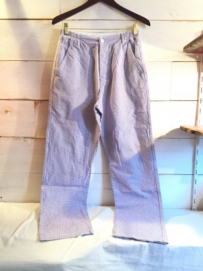 70's Vintage French Chef Trousers / 2