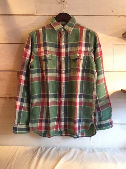 RRL Cotton & Linen Flannel Shirts<BR>SALE!! 12,800 + Tax → 7,680 + Tax