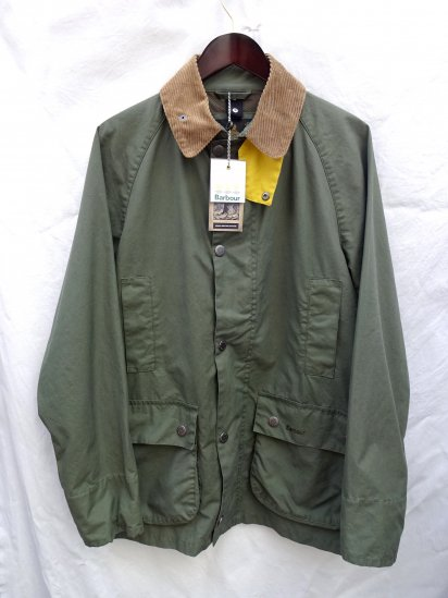 Barbour Read Jacket Green x Yellow