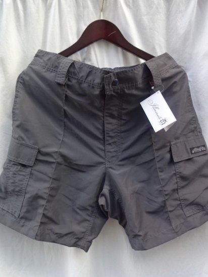 MOCEAN Cargo Shorts Made in U.S.A Charcoal