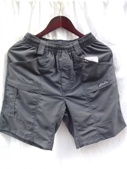 MOCEAN Barrier Shorts Made in U.S.A Dark Gray