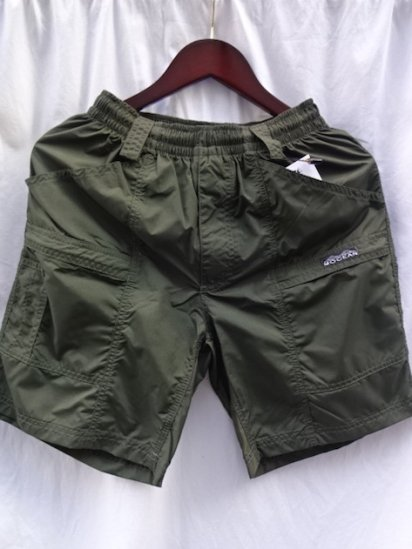 MOCEAN Barrier Shorts Made in U.S.A Olive