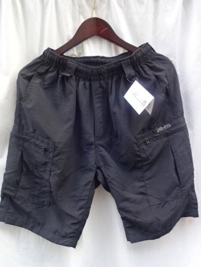 MOCEAN Long Pursuit Shorts Made in U.S.A <BR>Black