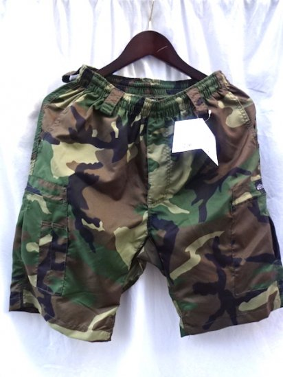 MOCEAN Long Pursuit Shorts Made in U.S.A <BR>Camo