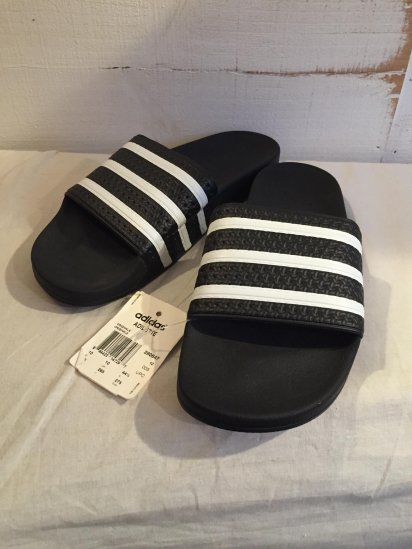 adidas ADILETTE Made in Italy Black x White<BR>SPECIAL PRICE! 3,000 + Tax