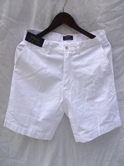 Ralph Lauren Chino Shorts White