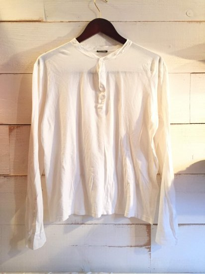 USED miu miu Henley Neck Shirts Made in Italy