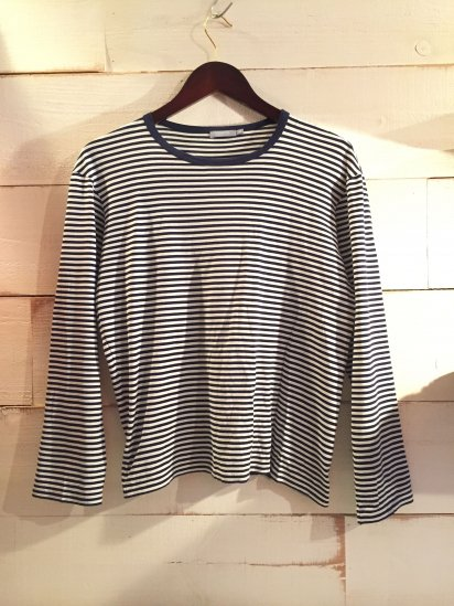 USED SUNSPEL Border L/S Tee Made in England / 2