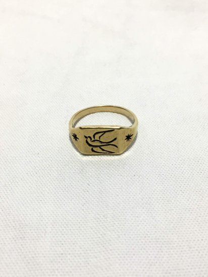 LHN Jewelry Swallow Ring Hand Made in BROOKLYN