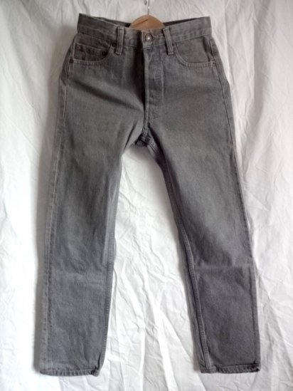 90's Old Levi's 501 Black Made in U.S.A / 9