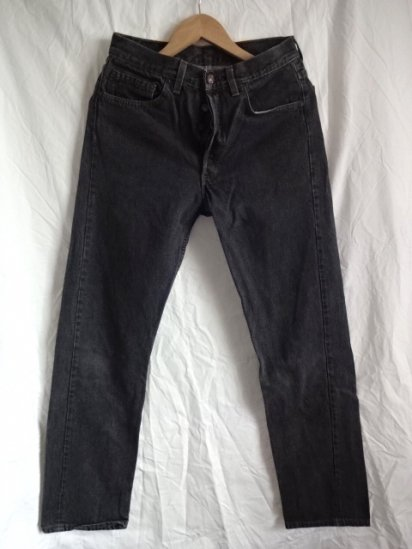 90's Old Levi's 501 Black Made in U.S.A / 11