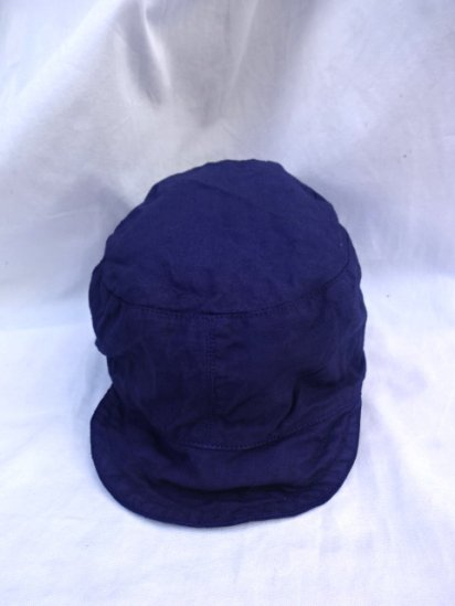 50's Vintage Dead Stock Peaked Cap Type 2 ATOMIC ENERGY Overdyed/2