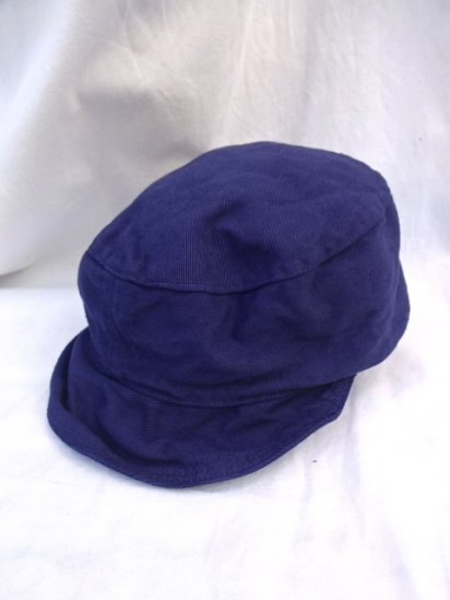 50's Vintage Dead Stock Peaked Cap Type 2 ATOMIC ENERGY Overdyed/3