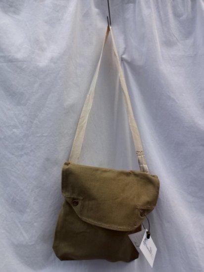 a3bad11193 ... 40 s Vintage Dead Stock British Army Cotton Canvas Shoulder Bag Khaki    1
