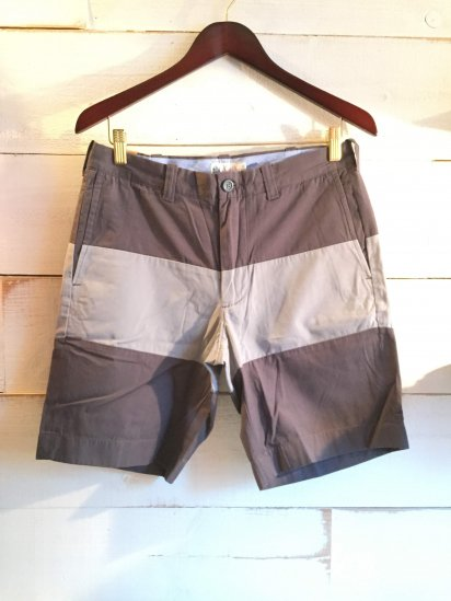J.Crew 9inc Poplin Border Shorts<BR>SPECIAL PRICE !! 2,900 + Tax