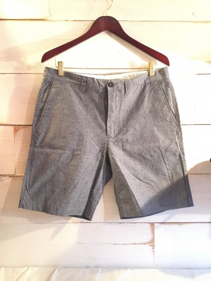 J.Crew 9inc Chambray Dot Shorts<BR>SPECIAL PRICE !! 2,900 + Tax