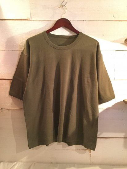 Dead Stock British Military PT (Phisical Training) Tops  re-size to shorten length Olive