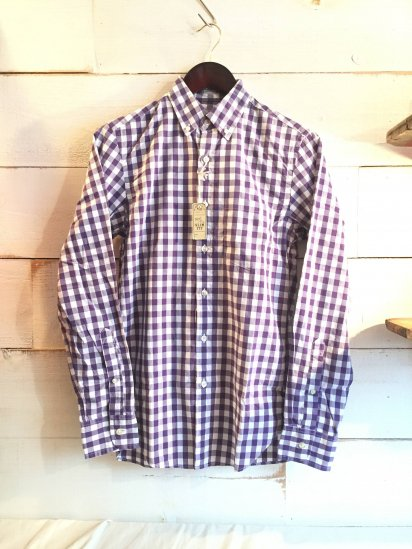 J.Crew Slim Fit Broadcloth Gingham B.D Shirts<BR>SPECIAL PRICE!! 3,900 + Tax